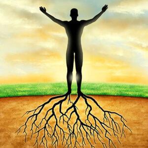 Aromatherapie gronding, maak contact met moeder aarde