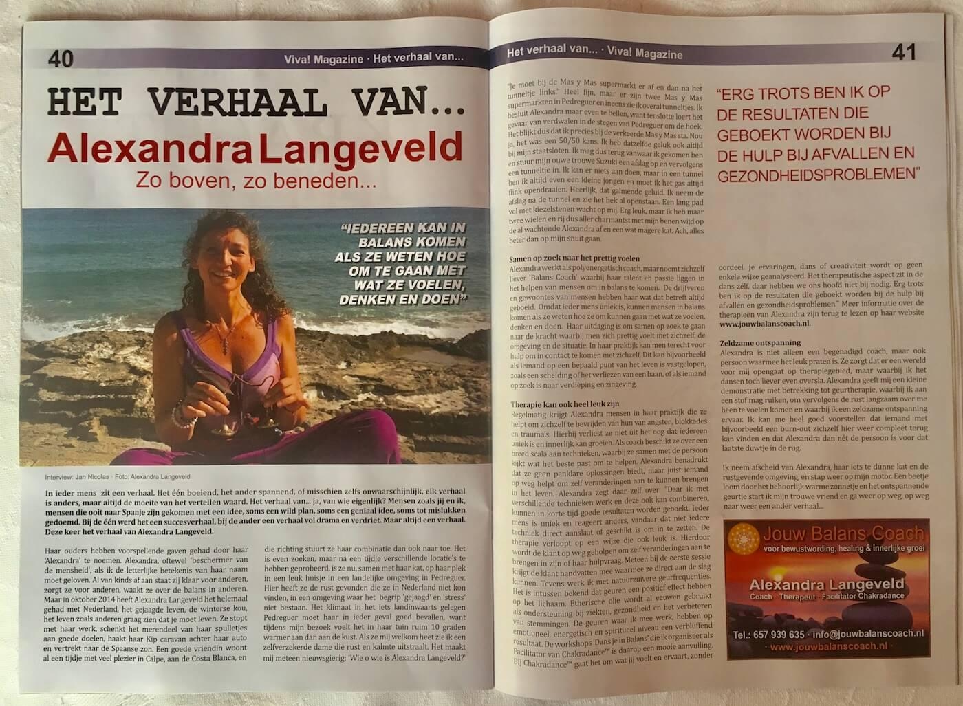 VIVA Magazine - Het verhaal van Alexandra Langeveld